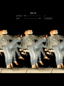 Interactive video dance installation   International 2006 - 2010