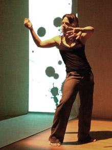 Interactive Installation from Francesca Llopis visual art  Lab NU2s | Celrà 2013